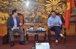 VCCI General Secretary Receives JICA Chief Technical Advisor